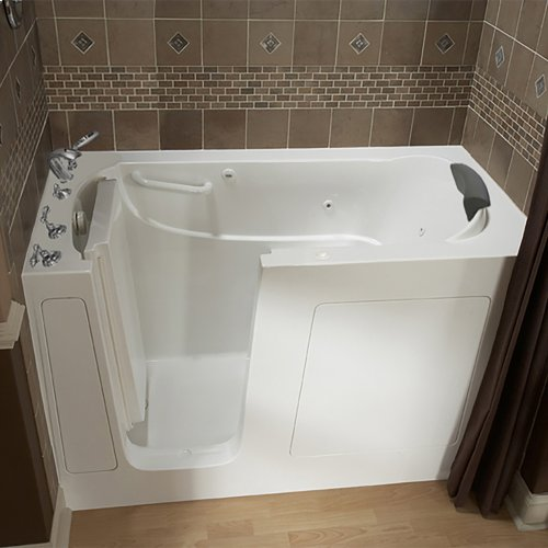 Premium Series 30x60-inch Walk-In Tub with Whirlpool Massage System  American Standard - White