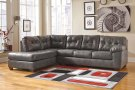 Alliston DuraBlend® - Gray 2 Piece Sectional Product Image