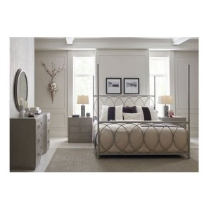 LEGACY CLASSIC FURNITURECinema by Rachael Ray Metal Canopy Bed, Queen 5/0