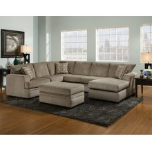 6800 - Cornell Pewter Sectional