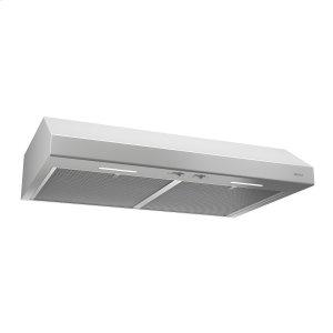 BroanBroan® 30-Inch Convertible Under-Cabinet Range Hood, 250 CFM, White