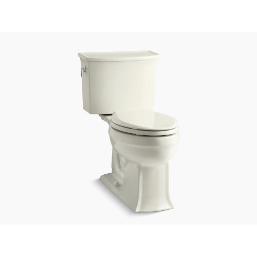 Biscuit Comfort Height Two-piece Elongated 1.28 Gpf Toilet With Aquapiston Flushing Technology, Seat Not Included