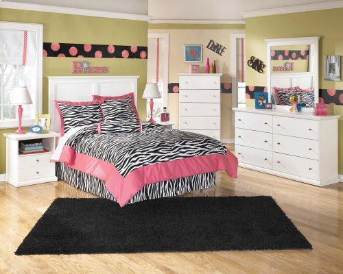 Bostwick Shoals - White 2 Piece Bedroom Set