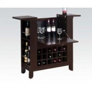 Wenge Finish Wine Bar Product Image