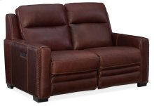 Living Room Lincoln Power Motion Loveseat with Power Headrest & Power Lumbar Support
