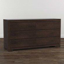 Bench*Made Oak 6 Drawer Dresser