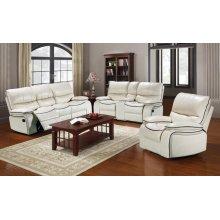 Dover White Sofa