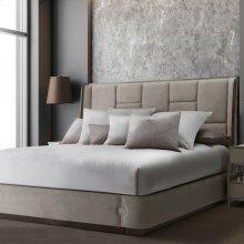 10pc King Comforter Set Chrome