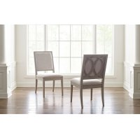 Cinema by Rachael Ray Upholstered Side Chair Product Image