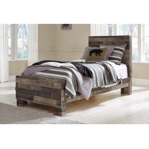 Ashley Furniture Derekson - Multi Gray 3 Piece Bed Set (Twin)