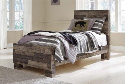 Derekson - Multi Gray 3 Piece Bed Set (Twin)