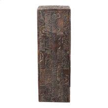 Gerardo Carved Wood Pedestal
