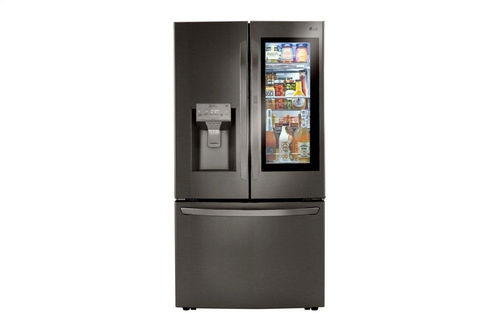 LG Appliances24 Cu. Ft. Smart Wi-Fi Enabled Instaview™ Door-In-Door® Counter-Depth Refrigerator With Craft Ice™ Maker