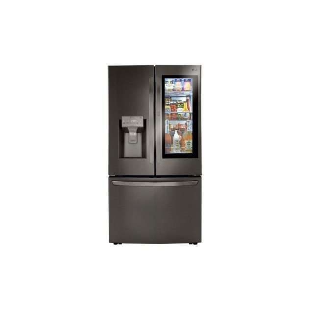 LG Appliances 24 cu. ft. Smart wi-fi Enabled InstaView™ Door-in-Door® Counter-Depth Refrigerator with Craft Ice™ Maker