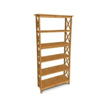 72''H X -Sided Bookcase