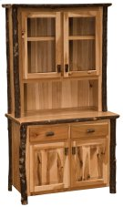 "Hickory 48"" Buffet & Hutch - Espresso Product Image"