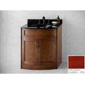 "Marcello 30"" Bathroom Vanity Cabinet Base in Colonial Cherry"