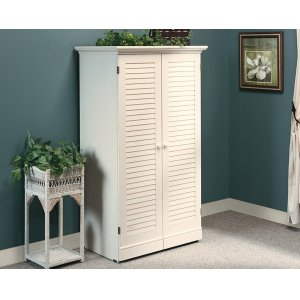 SauderCraft and Sewing Armoire with Table