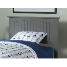 Nantucket Headboard Twin Atlantic Grey