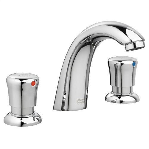 Metering 8-inch Widespread Faucet - 1.0 gpm - Polished Chrome