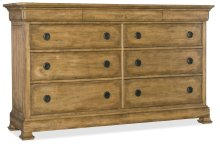 Bedroom Archivist Nine-Drawer Dresser