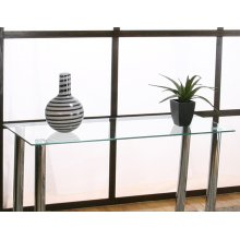 Napoli Rect Sofa Glass Top