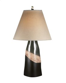 Ceramic Table Lamp (2/CN) Elita - Brown/Green/White Collection Ashley at Aztec Distribution Center Houston Texas