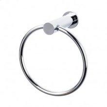 Hopewell Bath Ring - Polished Chrome