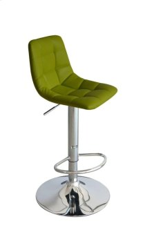 Laporte Lemon Green Bar Stool
