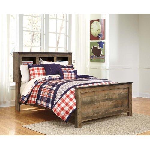 Full Bookcase Bed w/ Storage