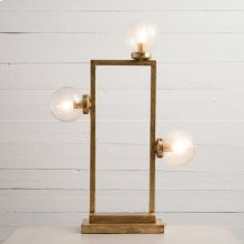 Clara Table Lamp- Gold Leaf