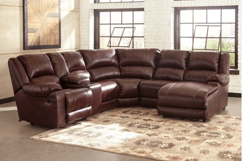 MacGrath - Mahogany 4 Piece Sectional