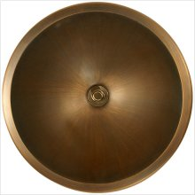 Bronze Large Round Smooth