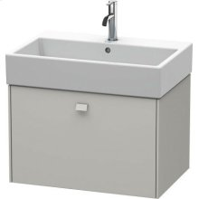 Vanity Unit Wall-mounted, For Vero Air # 235070concrete Gray Matt Decor
