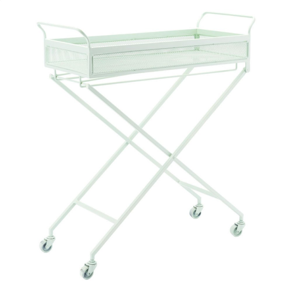 Mint Bar Cart Green
