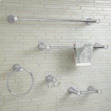 C Series 24 Inch Towel Bar - Polished Chrome