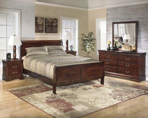 Ashley 4-Piece Full Sleigh Bed Set