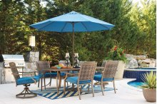 Outdoor Patio Dining Set - 9 piece SPECIAL