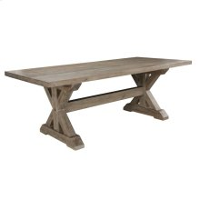"""Mills Dining Table 84"""" Vintage Taupe"""