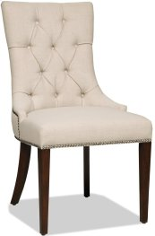 Dining Room Lindy Linen Dining Chair