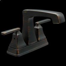 Venetian Bronze Two Handle Tract-Pack Centerset Bathroom Faucet