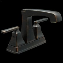 Venetian Bronze Two Handle Tract-Pack Centerset Bathroom Faucet