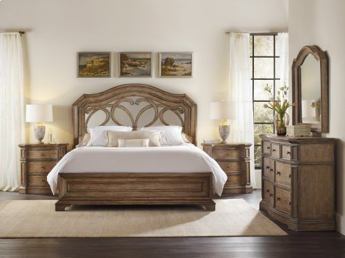 Bedroom Solana Three-Drawer Nightstand