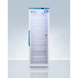 SummitPerformance Series Med-lab 15 CU.FT. Upright Glass Door All-refrigerator for Laboratory Storage With Factory-installed Data Logger