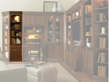 """Home Office Cherry Creek 22"""" Wall Storage Cabinet"""