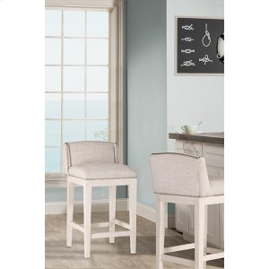 Hillsdale FurnitureBronn Non-swivel Counter Stool - White Wirebrush - 2 Stools Per Ctn