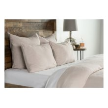 Heirloom Natural Duvet 3Pc Queen Set