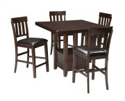 Haddigan - Dark Brown 5 Piece Dining Room Set Product Image