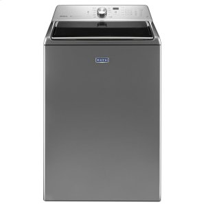 TOP LOAD LARGE CAPACITY WASHER WITH DEEP CLEAN OPTION- 5.3 CU. FT. - METALLIC SLATE