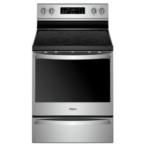 Whirlpool6.4 cu. ft. Freestanding Electric Range with Frozen Bake Technology